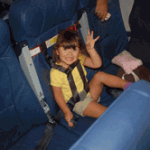Do infants' safety seats make air travel safer?