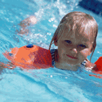 Infants in diapers/Swimming facilities/Illness